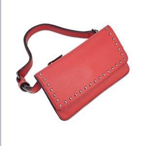 INC Studded Convertible Crossbody Waist Bag